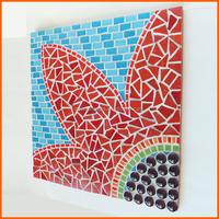 Beautiful art wall picture mosaic