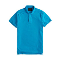 Wholesale 100% Cotton Mens Slim Fit Polo Shirt For Uniforms