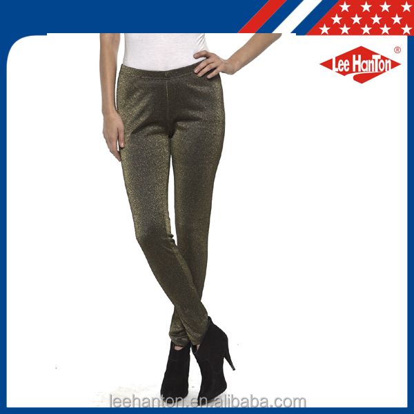 2017 New Collection Lady fashion casual pants with high quality