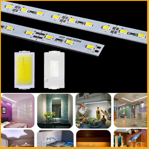 Fashionable smd led rigid strip 7020 with CE RoHS certification outdoor decoration led rigid strip led rigid bar