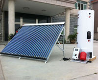 300l Copper Coil Heat Exchanger Solar Water Heater & Thermo Tank ...