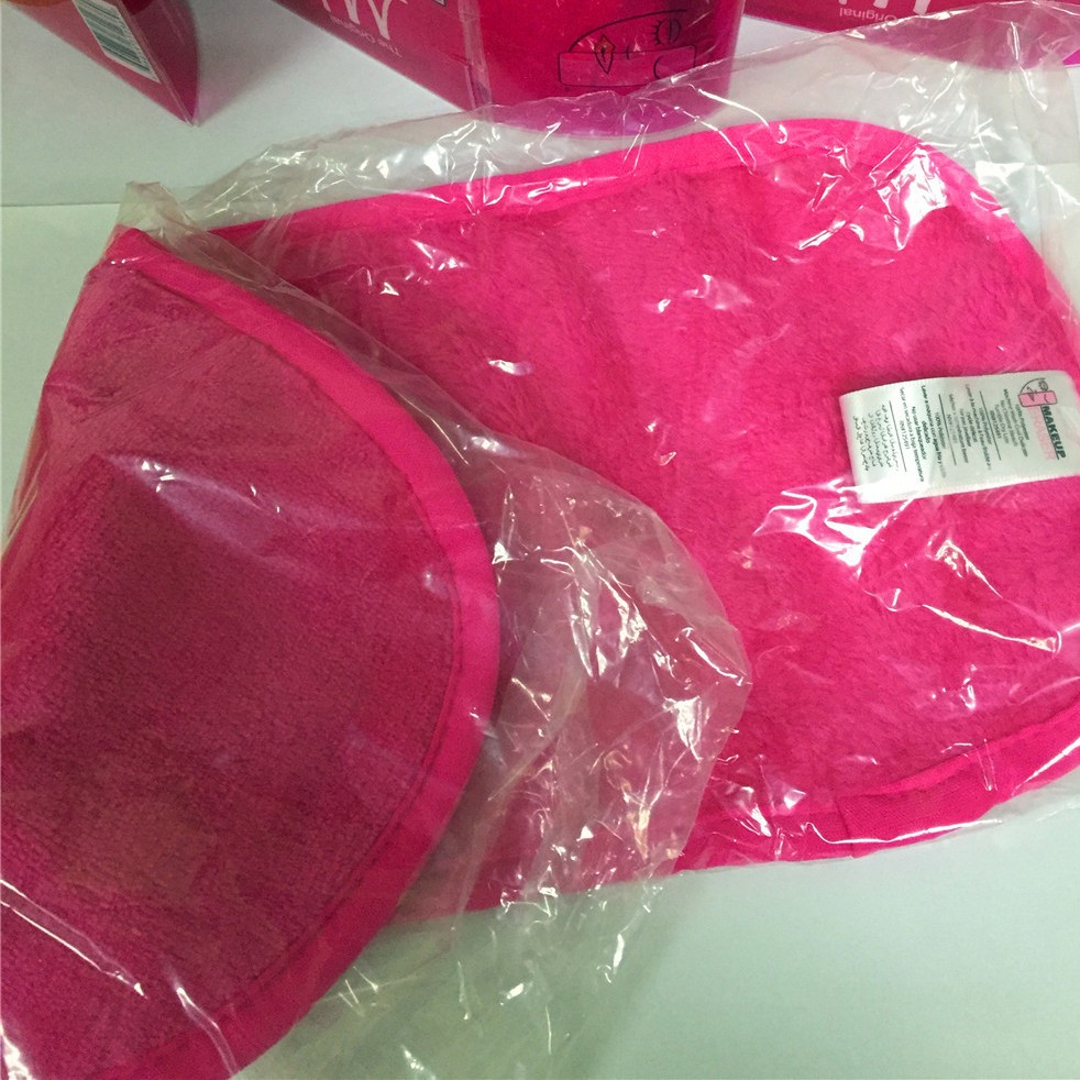 Factory Wholesale Colorful Magic Microfiber Makeup Remover Cloths