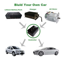 5KW Electric Vehicle Brushless DC Motor Speed Controller