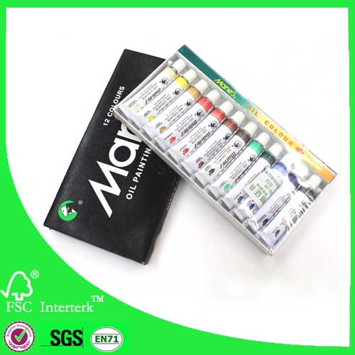 Maries 12ml oil color paint set