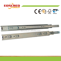 Factory Sale 1.2x1.2x1.2x50 Roller Ball Bearing Drawer Slide For Furniture