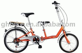 Folding bike & mother and son double bike