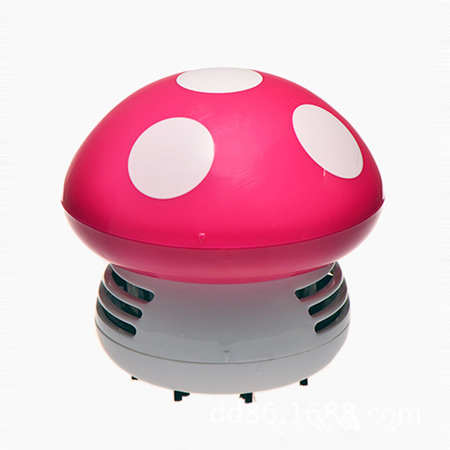 M039 Multicolor mushroom cute table dust <strong>cleaner</strong> mini desk vacuum <strong>cleaner</strong>