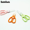 Ceramics Baby Food Cutting Scissors with Safety Lock
