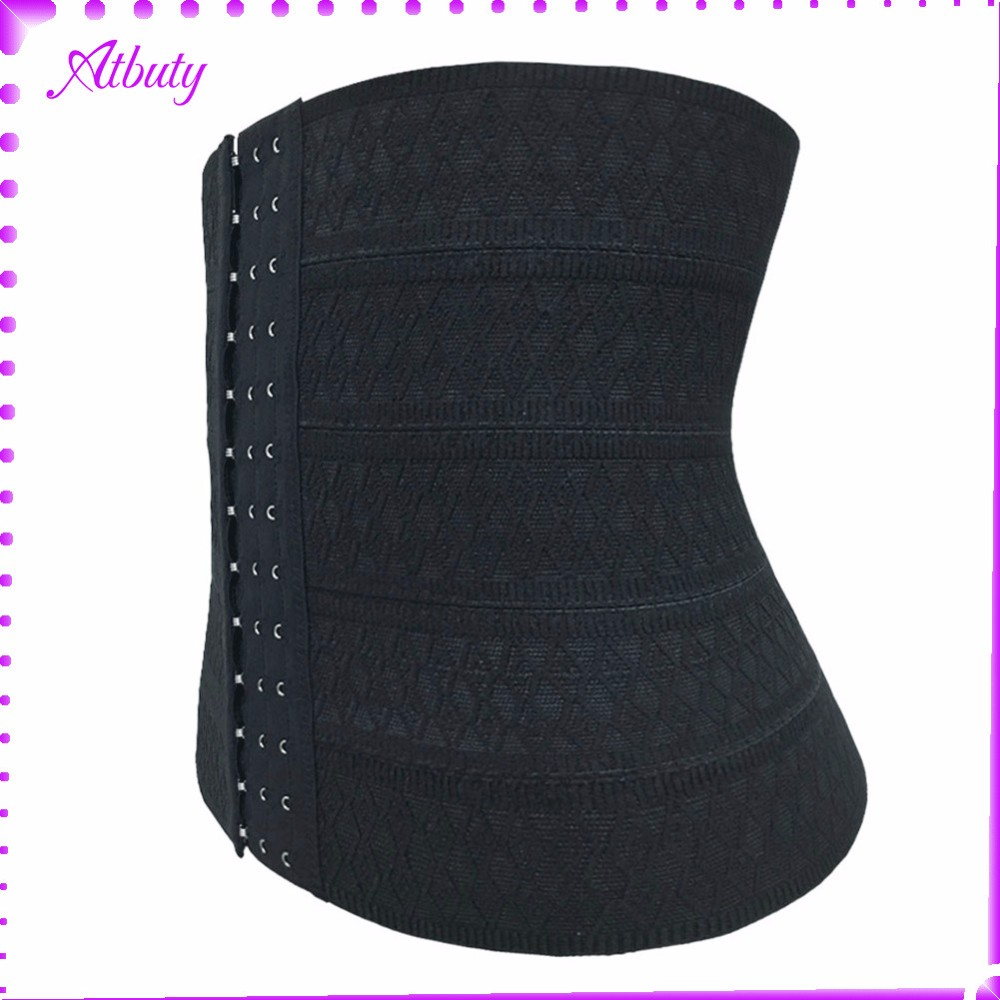 Top Selling Products Three Hooks Black slim Waist Trainer Body Shaper