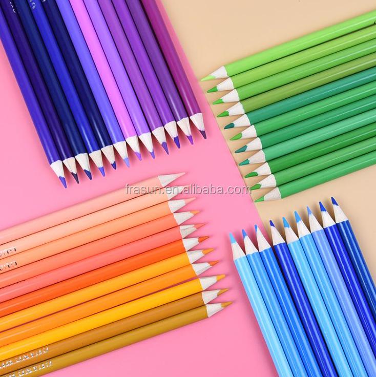 136 Yağlı Renkli Kalem Uzmanı Boyama Araçları136 Yağlı Renkli Boya