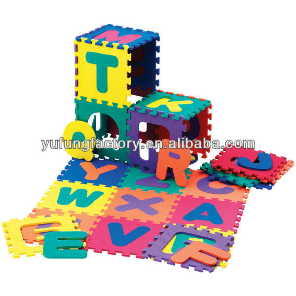 EVA jigsaw puzzle,education puzzle mat