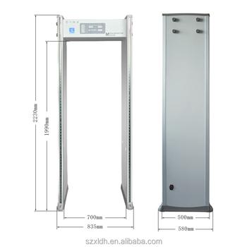 Top Quality Best Price Door Frame Walk Through Meatl Detector ...
