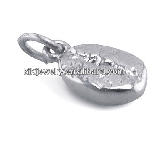alibaba china supplier half coffee bean charm