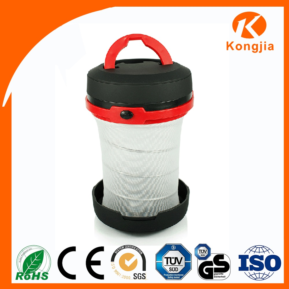 Ultra Bright LED ABS Foldble Plastic Lantern Waterproof Mini Camping Lantern Traditional Chinese Red Lanerns