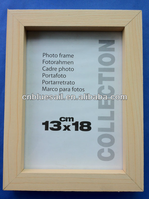 13x18 Birch Wood Frame,Wood Grain Photo Frame,Solid Wood Picture ...