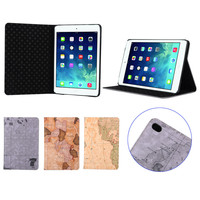 2015 NEW smart cover leather folio case for iPad Mini 4 case and cover China supplier