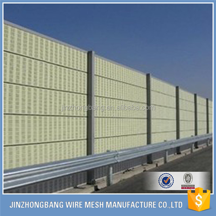 Direct supplier Highway or Railway Noise Barrier,Sound Barrier Wall,Acoustic Barrier