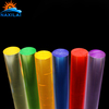 Naxilai Lower Price Guangzhou Industrial Engineering 2Mm Hard Clear Acrylic Rods Colorful Light Stick for Light Bar