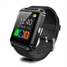 Bluetooth Smart U8 Watch BT-notification Anti-Lost MTK WristWatch for iPhone 4/4S/5/5S Samsung S4/Note 2/Note 3 Android Phone
