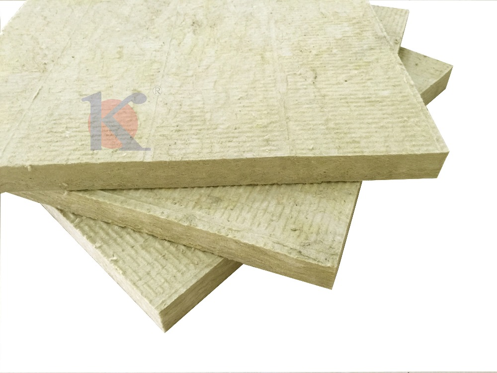 House roof insulation - rock wool board