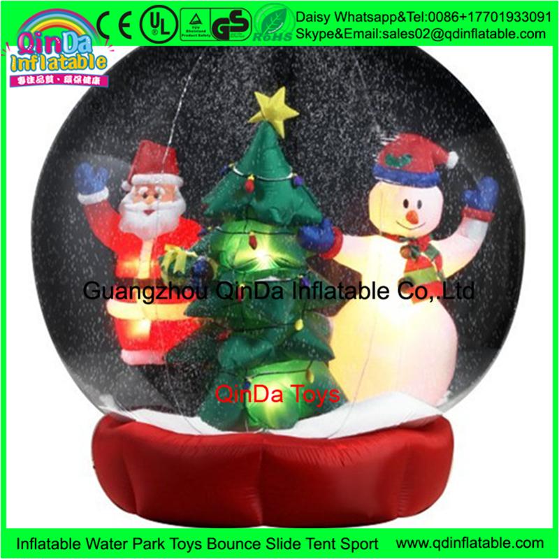 China Hersteller aufblasbare weihnachts hof schneekugeln ...