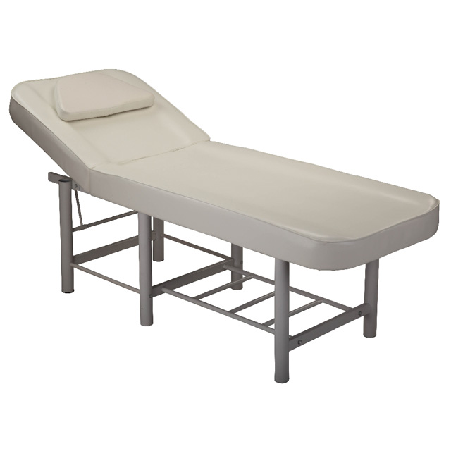 Various colors option beauty salon furniture minimal design simple portable full body spa massage bed facial bed for sale