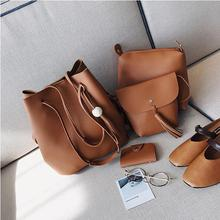 Free shipping 4 in1 set women handbags 싼 price STB166