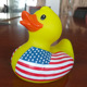 Non-Phthalate PVC Vinyl Toy Rubber Duck With Sunglasses
