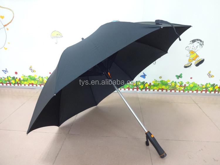 New Deisgn Straight Manual Open Electric Fan Umbrella