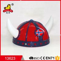 wholesale halloween party beer hats cheap plastic viking helmet
