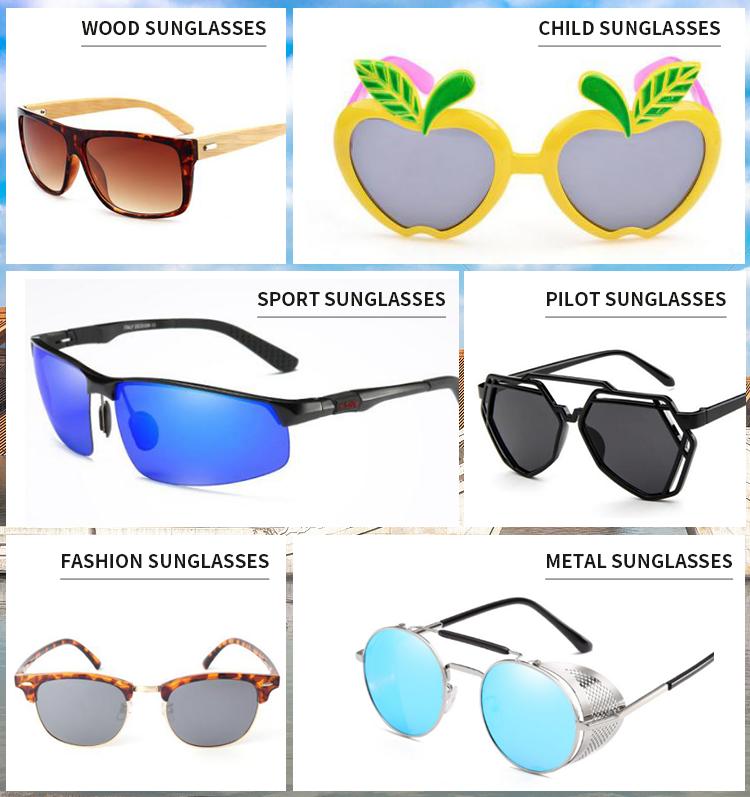 2019 HJ factory dropship hot selling skateboard wooden sunglasses customize your logo handmade polish bamboo wooden sunglasses