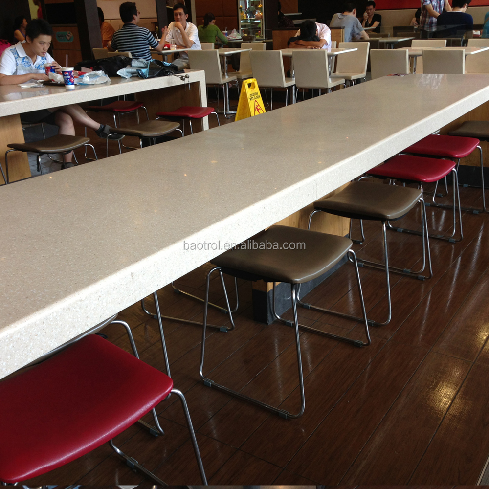wholesale solid surface kfc long bar table top table chair  buy  - wholesale solid surface kfc long bar table top table chair