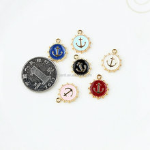 Fashion navigator disc charm anchor charm pendant jewelry accessory