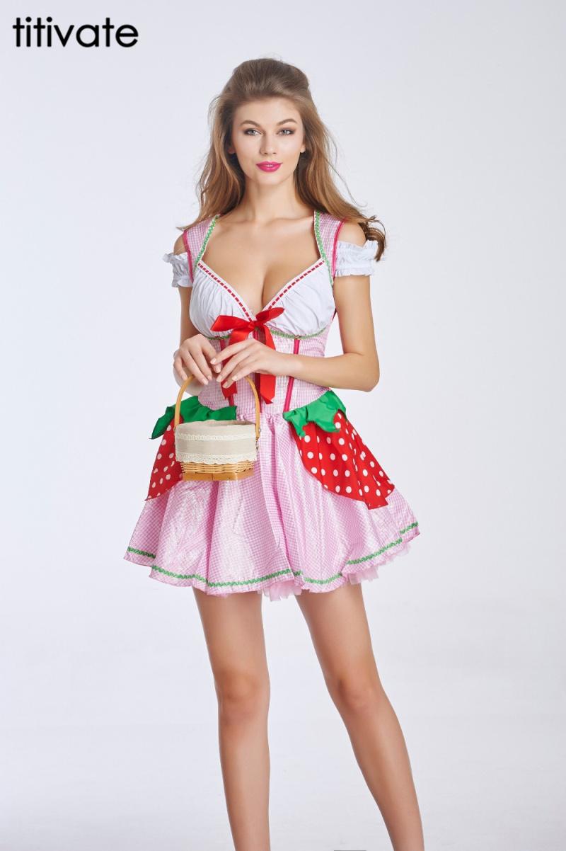 Strawberry Shortcake Adult Costume 11