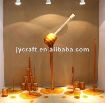 Jywc 011 creative decoration display big fake honey model for 7p decoration