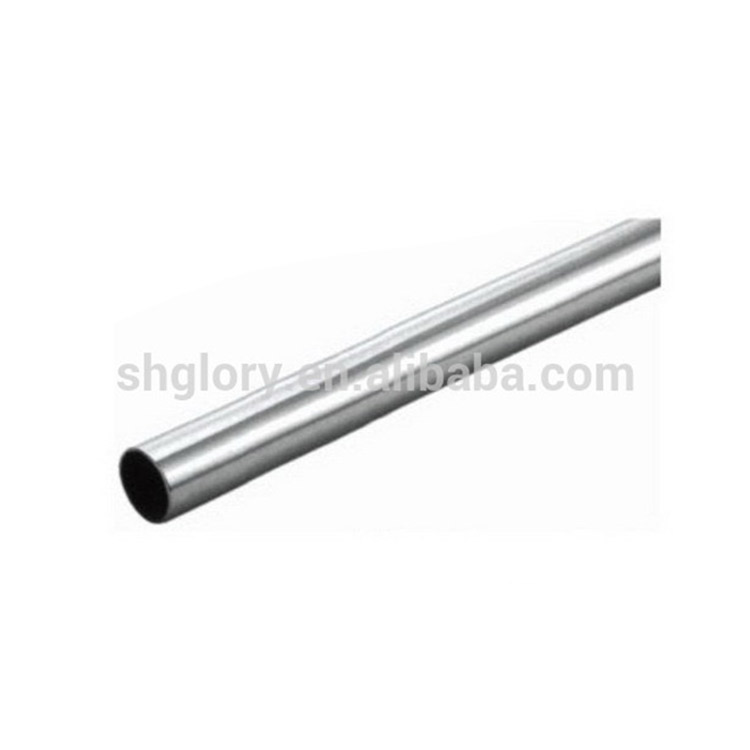Chrome Steel Wardrobe Tube, Round/Oval Wardrobe Pipe