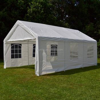 gartenzelt hochwertiges festzelt partyzelt bierzelt pe pavillon stabil wasserdicht 4 x 6 m 3x4 meter