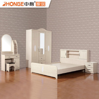 Beautiful MDF Classic Bedroom Sets Wooden Malaysia Furniture ...
