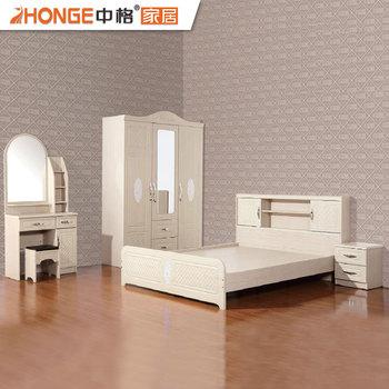 Beautiful Beautiful MDF Classic Bedroom Sets Wooden Malaysia Furniture Manufacturer