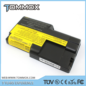 CE FCC ROHS laptop battery replacement For IBM ThinkPad T20 T21 T22 T23 T24 rechargeable Laptop Battery