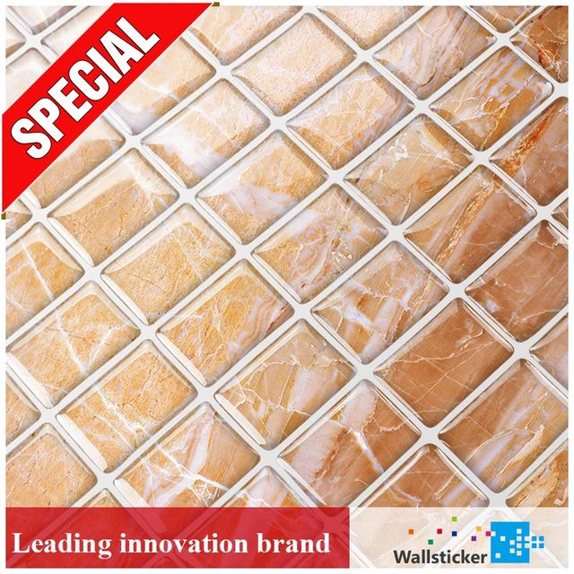 Guangdong Yashi Backsplash Kitchen Patterned Tile Sticker