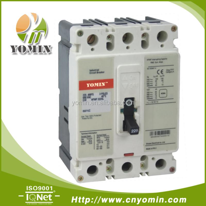 Manufacturer 200a 3-pole Molded Case Circuit Breaker,Hfwf-250/3p ...