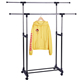 Pipe clothing rack wall shelve pet clothes hanger