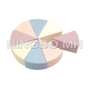8PCS Foundation Finishing Soft NBR Makeup Puff Sponge