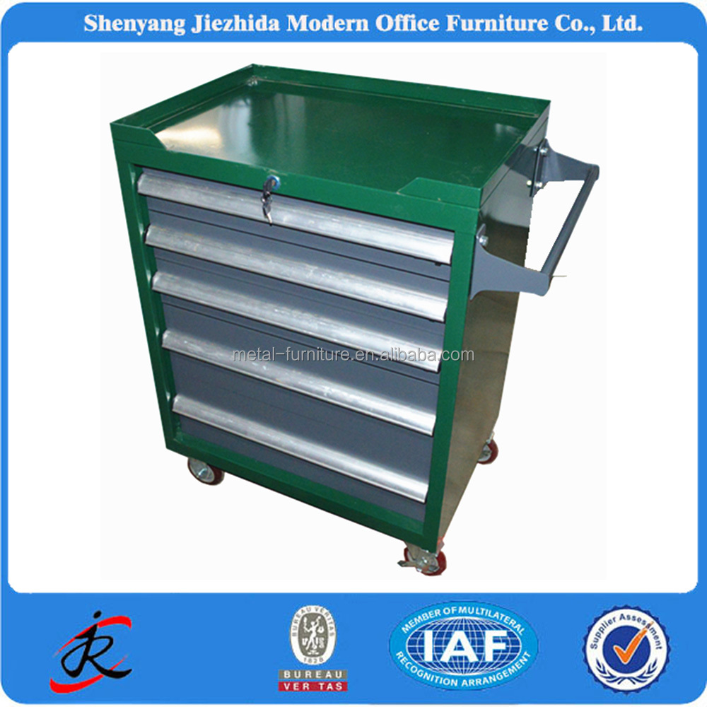 heavy duty mobile movable steel metal workshop garage tool box roller cabinet