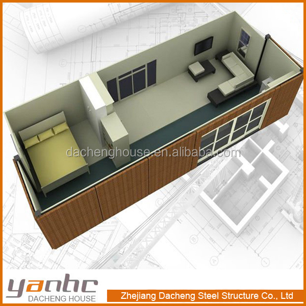 Container Houses 20 Feet 40 Feet Prefabricated Two Bedroom