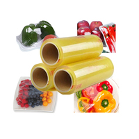 High Quality Transparent Food Wrap Use Film Super Clear PVC Cling Film