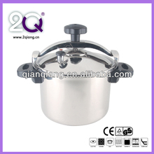 100% safety guarantee 18/8 stainless steel pressure cooker suitable to gas stove & induction cooker CSK24 -8L
