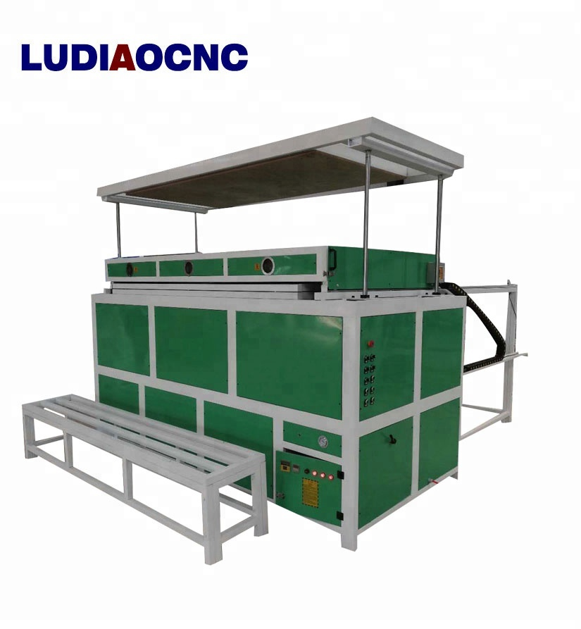 PVC/Acrylic /PMMA/vacuum forming thermoforming machine 1325 for advertising signs acrylic vacuum forming machine with CE