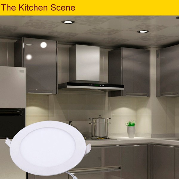 Cct Adjustable Ultra Thin 12w 6 Inch Round Led Ceiling Lighting ...